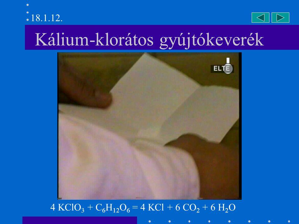 Kálium-klorátos gyújtókeverék