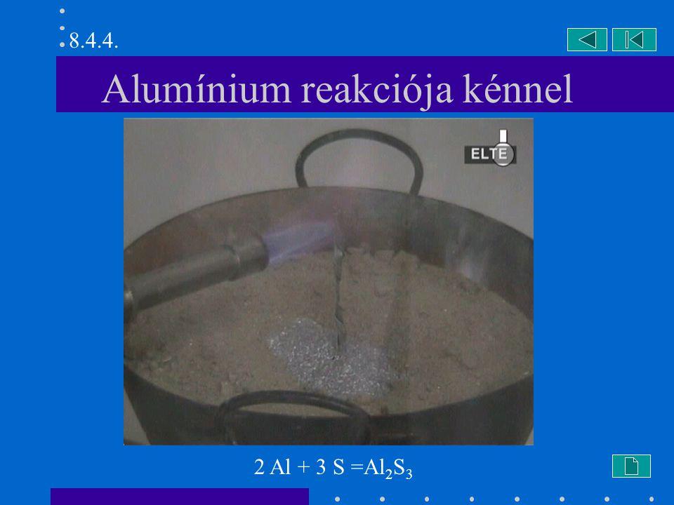 Alumínium reakciója kénnel