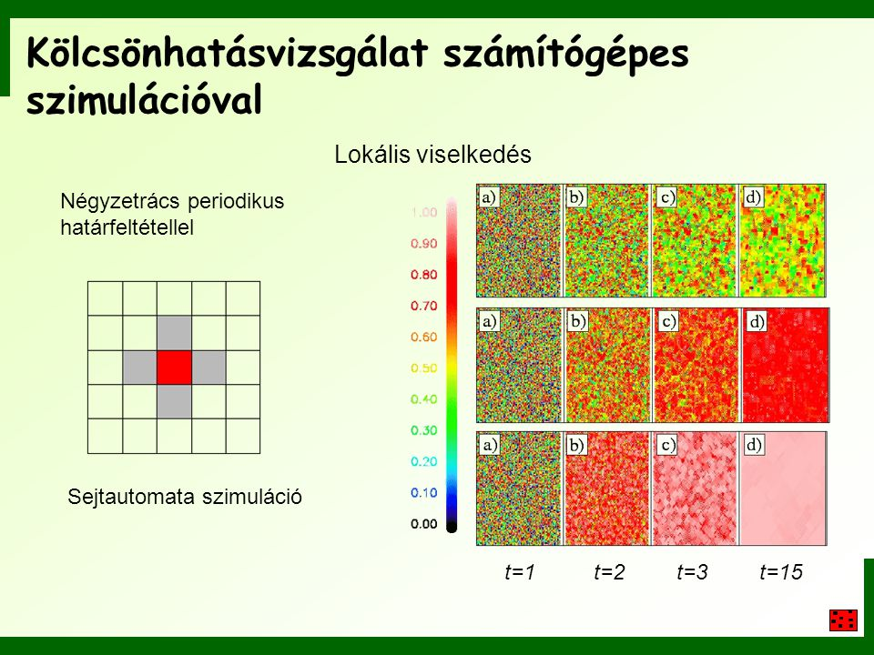 Kölcsönhatásvizsgálat számítógépes szimulációval