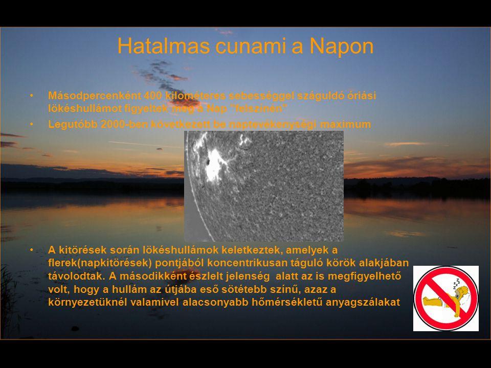 Hatalmas cunami a Napon