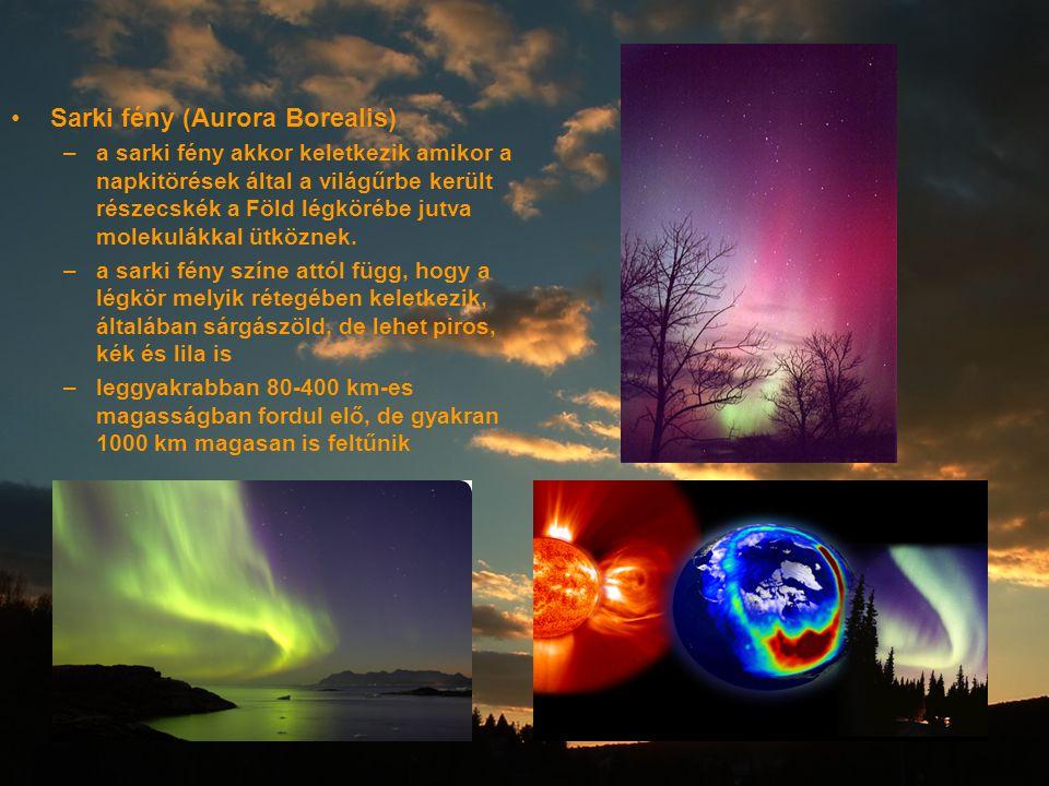 Sarki fény (Aurora Borealis)