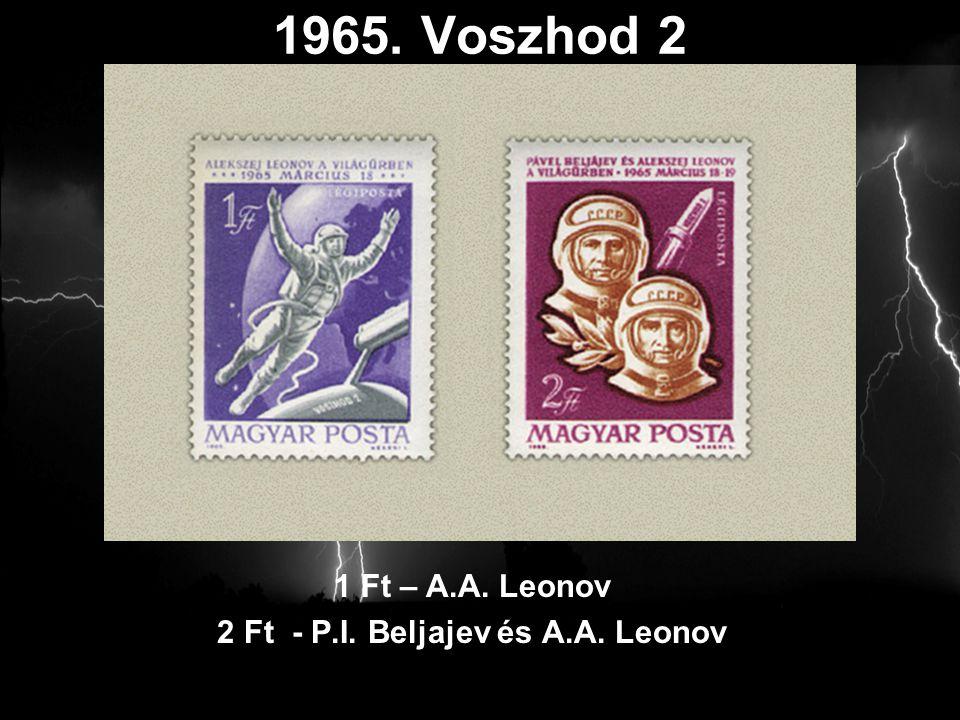 2 Ft - P.I. Beljajev és A.A. Leonov