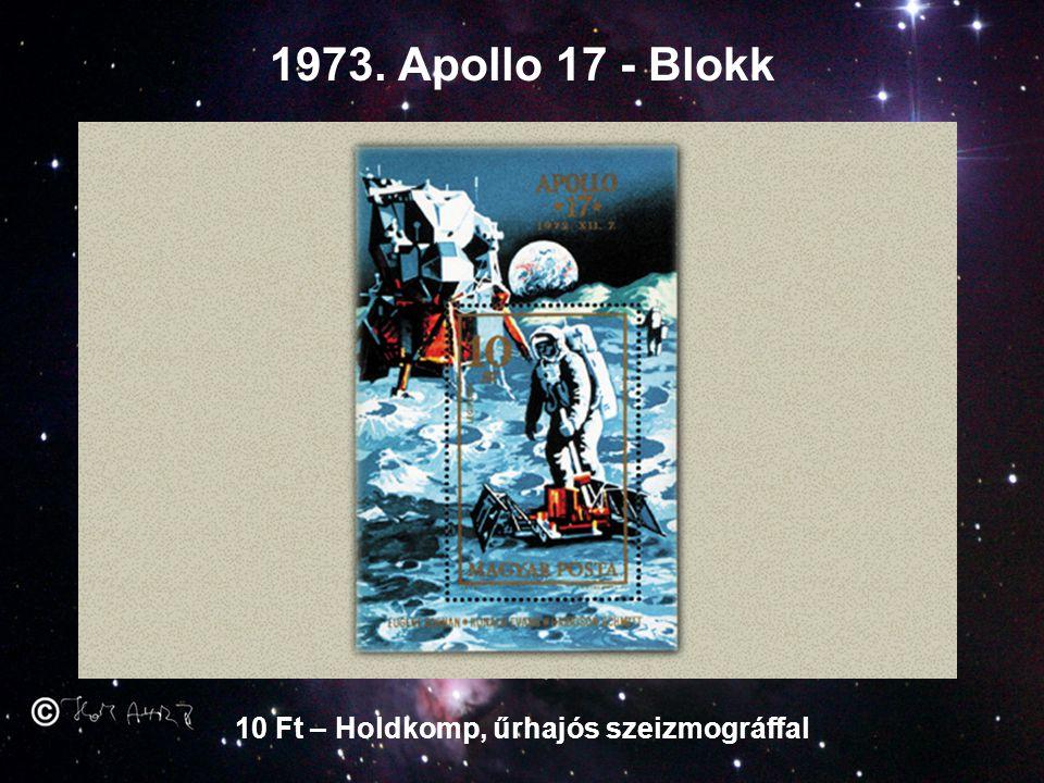 10 Ft – Holdkomp, űrhajós szeizmográffal