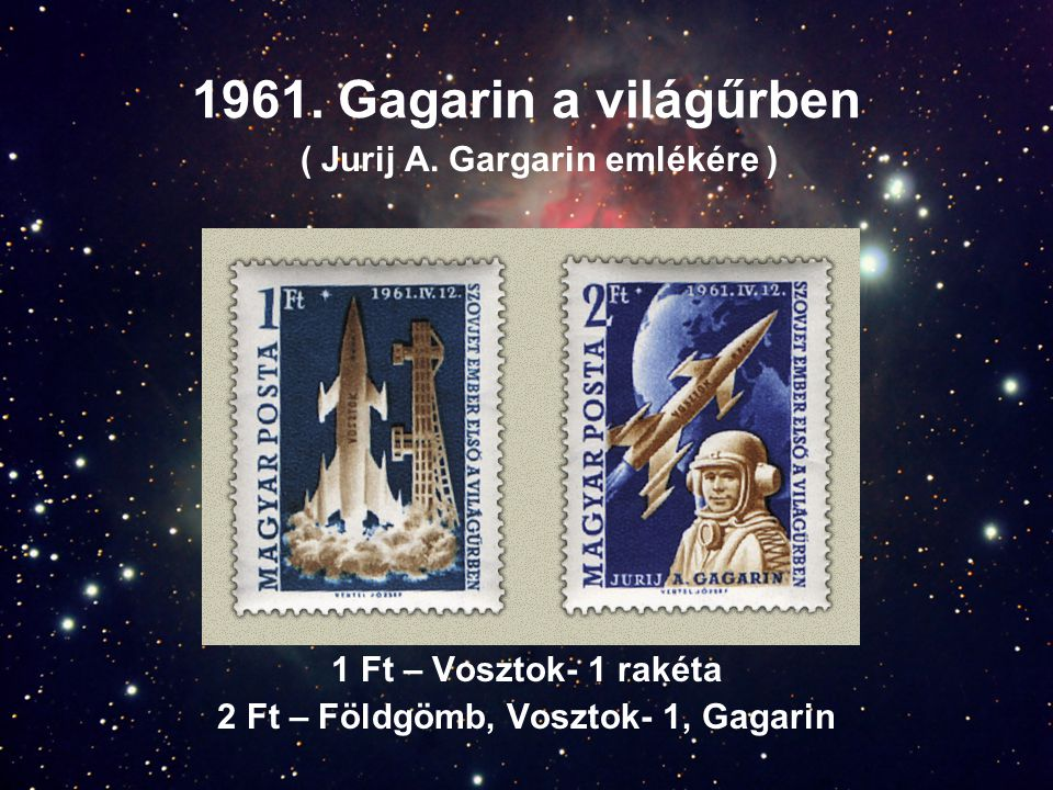 2 Ft – Földgömb, Vosztok- 1, Gagarin