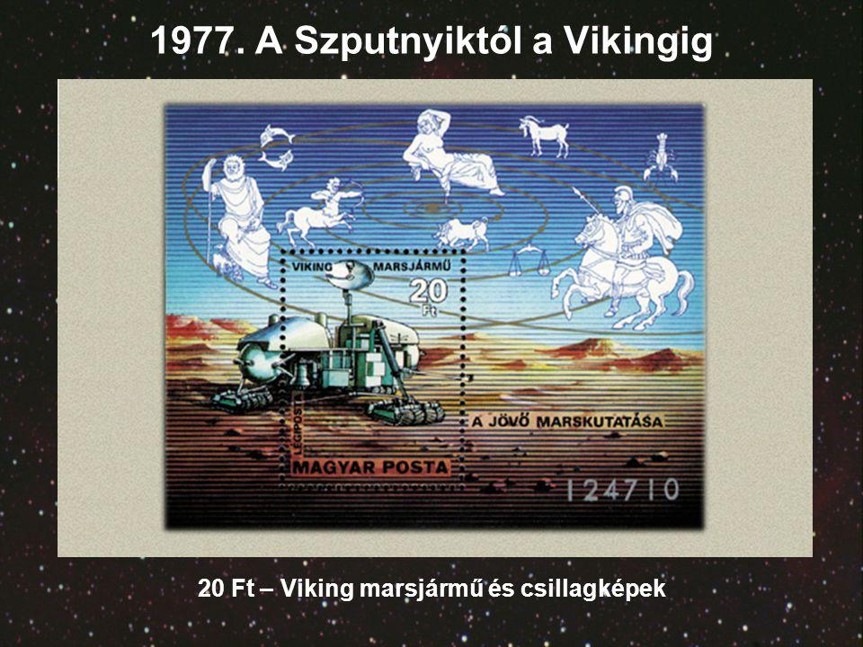 1977. A Szputnyiktól a Vikingig