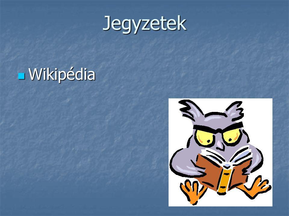 Jegyzetek Wikipédia