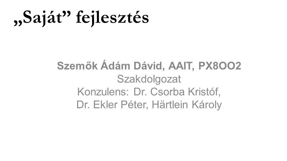 Szemők Ádám Dávid, AAIT, PX8OO2