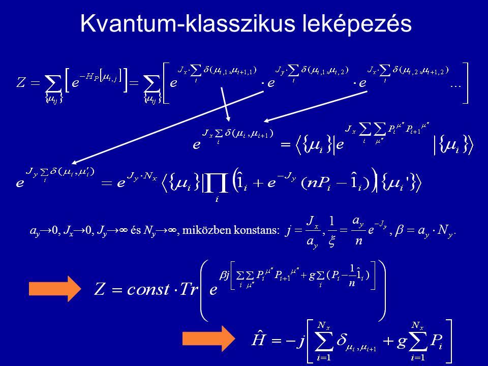 Kvantum-klasszikus leképezés