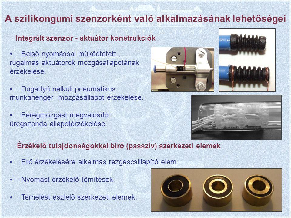 A szilikongumi szenzorként való alkalmazásának lehetőségei