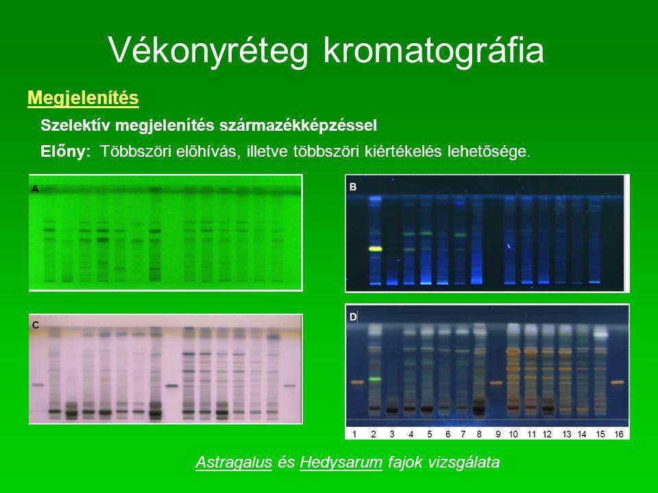 Vékonyréteg kromatográfia