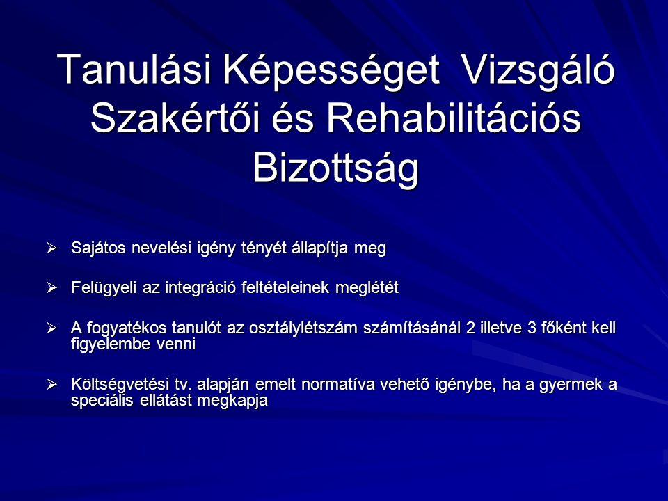 Tanulási Képességet Vizsgáló Szakértői és Rehabilitációs Bizottság