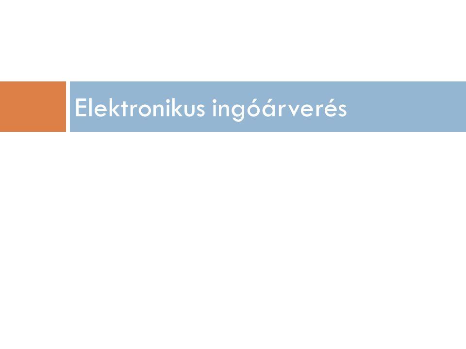 Elektronikus ingóárverés