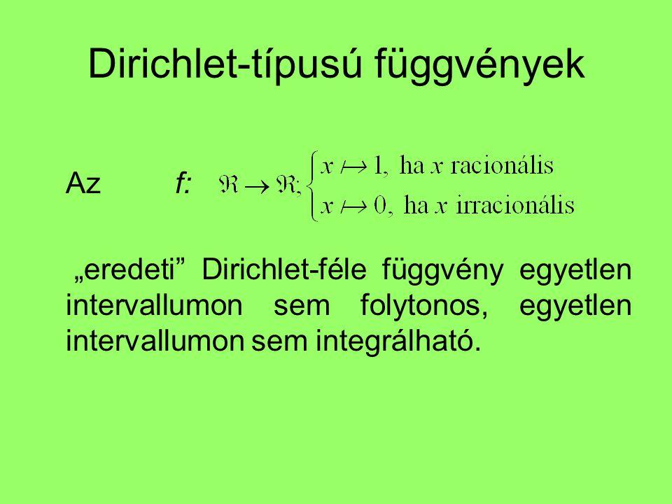 Dirichlet-típusú függvények