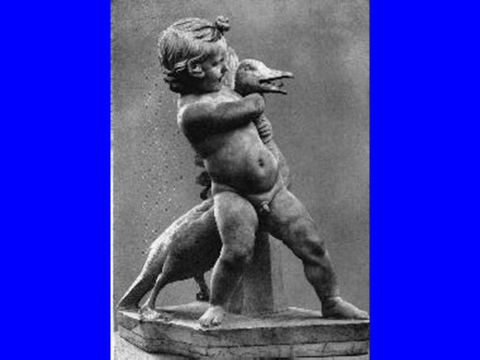 A khalkhédoni Boéthoszbólvaló a libával birkózó kisfiút ábrázoló bronzszobor