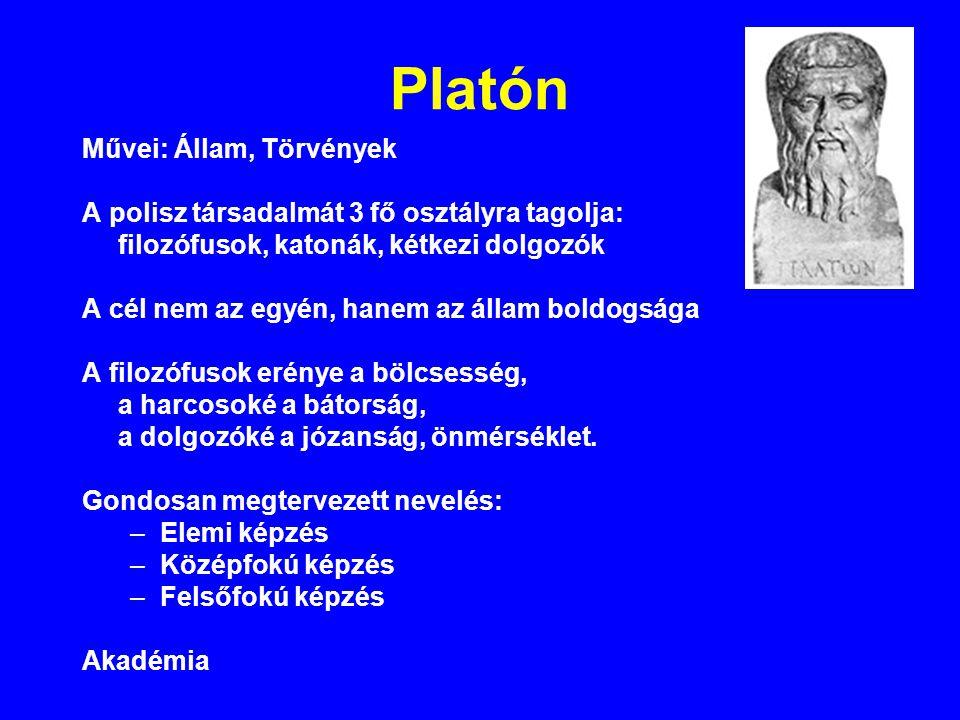 Platón Művei: Állam, Törvények