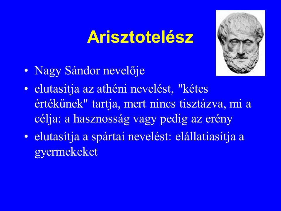 Arisztotelész Nagy Sándor nevelője