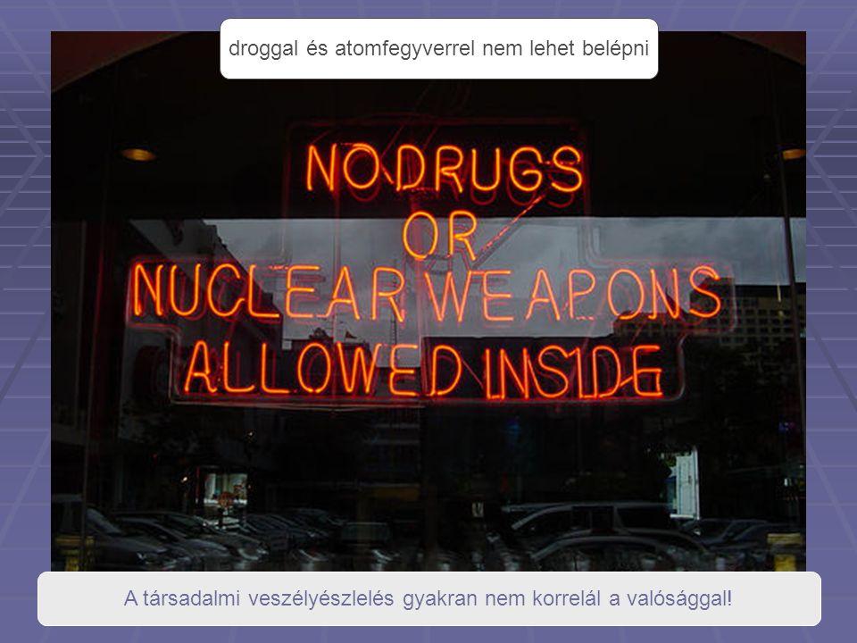 droggal és atomfegyverrel nem lehet belépni