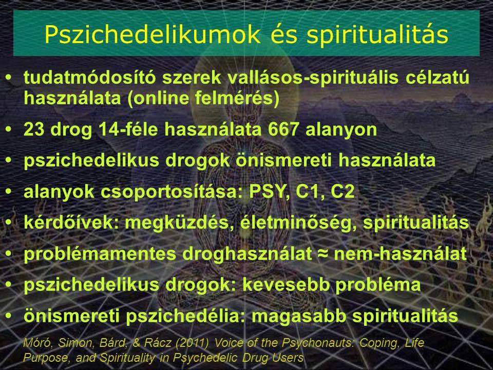 Pszichedelikumok és spiritualitás