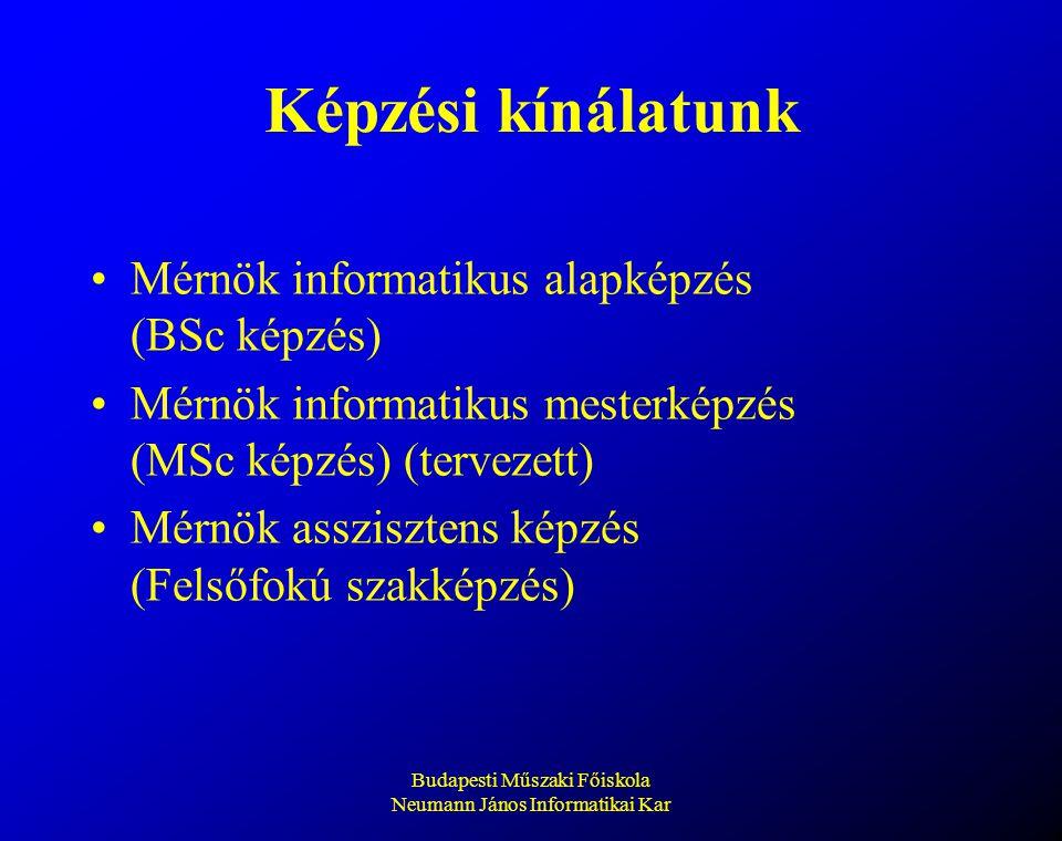 Budapesti Műszaki Főiskola Neumann János Informatikai Kar