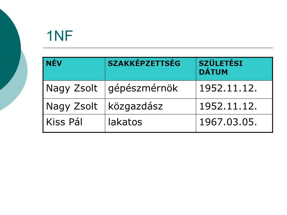 1NF Nagy Zsolt gépészmérnök 1952.11.12. közgazdász Kiss Pál lakatos