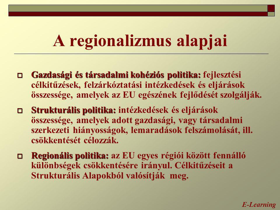 A regionalizmus alapjai