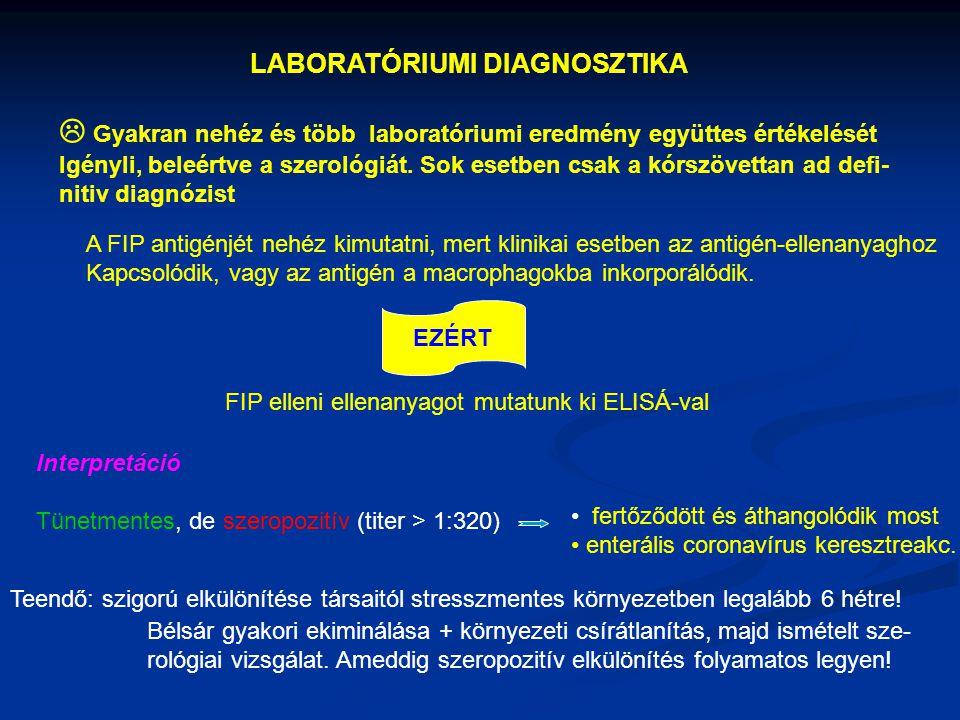  Gyakran nehéz és több laboratóriumi eredmény együttes értékelését