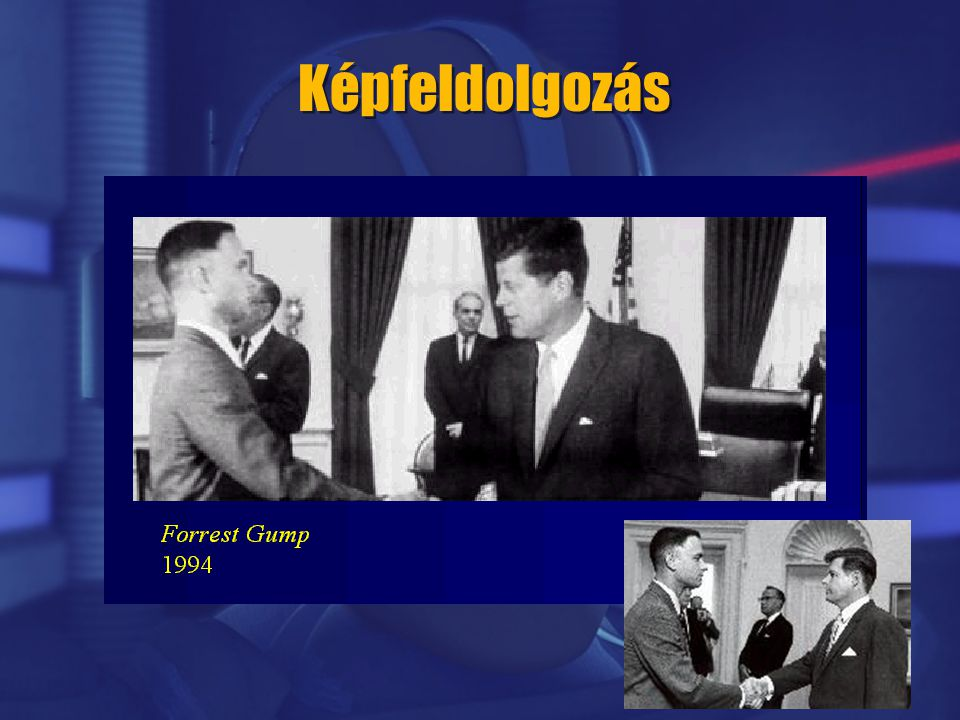 Képfeldolgozás John F. Kennedy