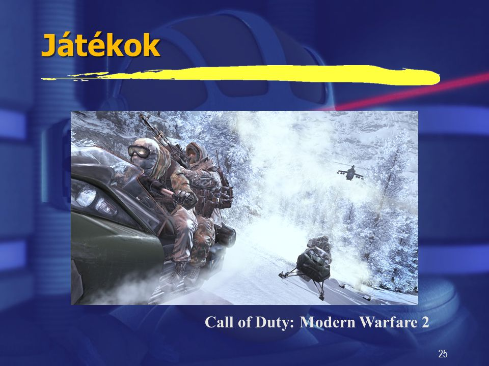 Játékok Call of Duty: Modern Warfare 2