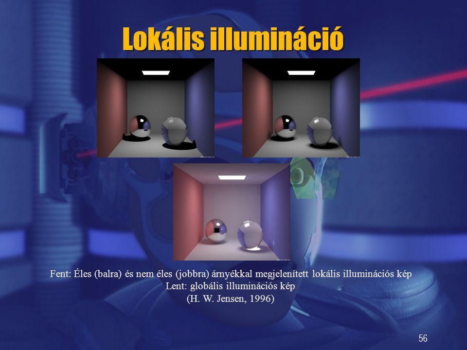 Lent: globális illuminációs kép