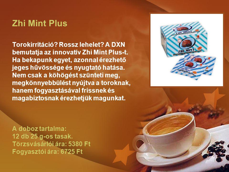Zhi Mint Plus Torokirritáció. Rossz lehelet
