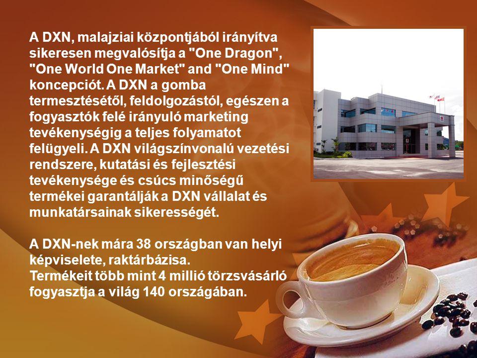 A DXN, malajziai központjából irányítva sikeresen megvalósítja a One Dragon , One World One Market and One Mind koncepciót.