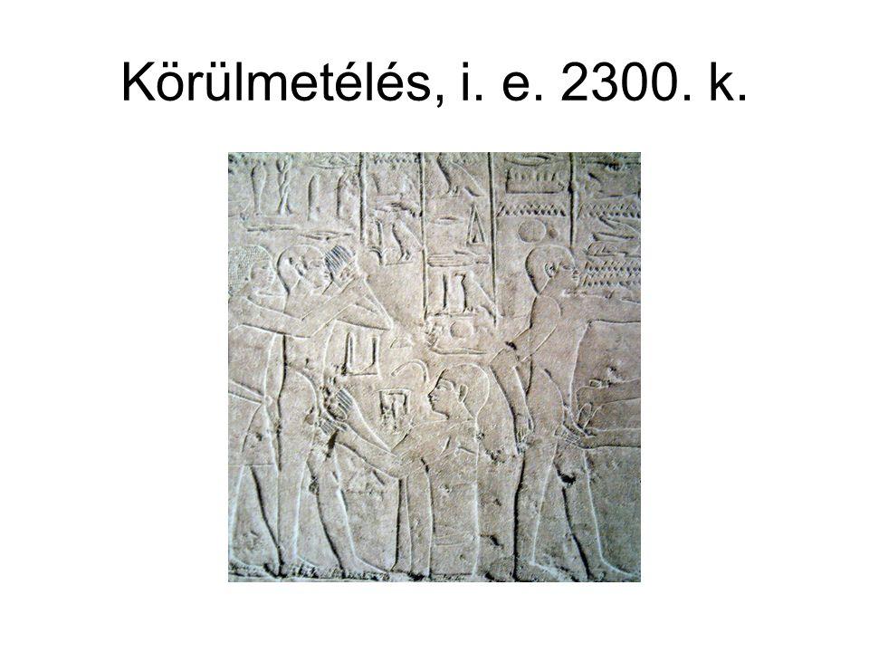 Körülmetélés, i. e. 2300. k.