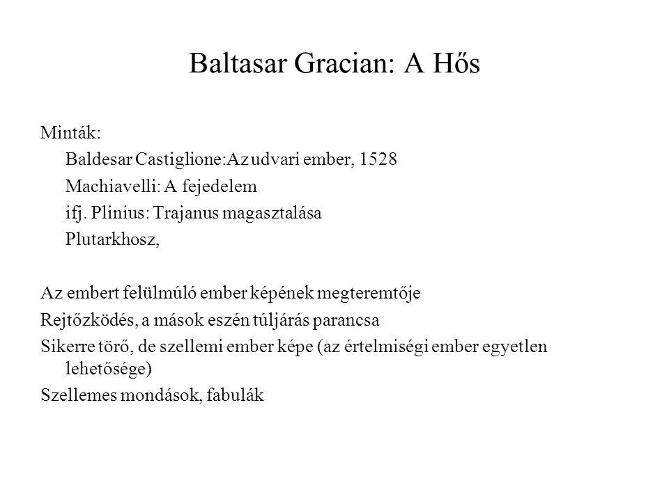 Baltasar Gracian: A Hős