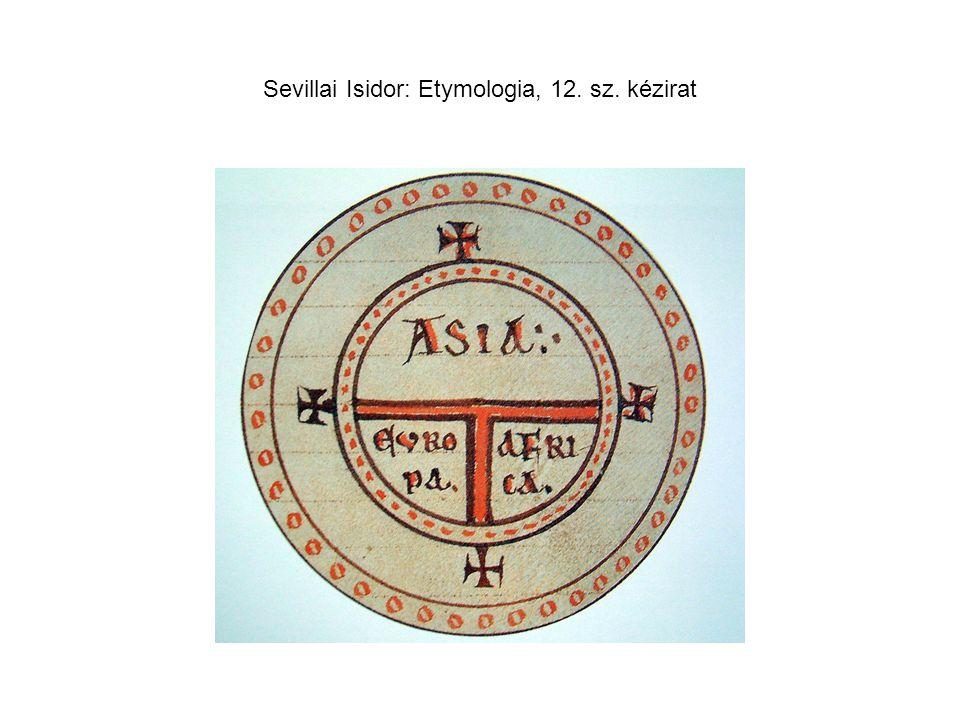 Sevillai Isidor: Etymologia, 12. sz. kézirat