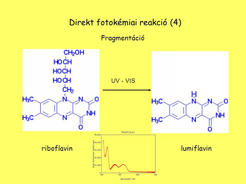Direkt fotokémiai reakció (4)