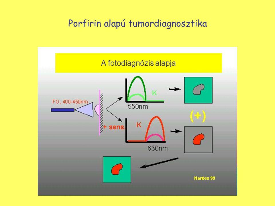 A fotodiagnózis alapja