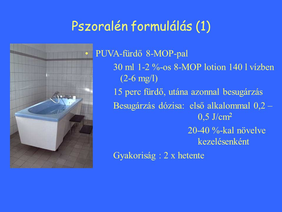 Pszoralén formulálás (1)