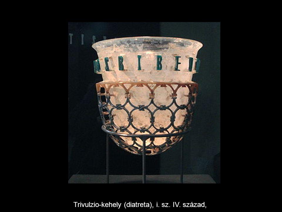Trivulzio-kehely (diatreta), i. sz. IV. század,