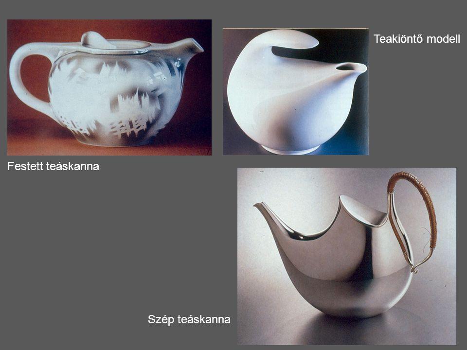 Teakiöntő modell Festett teáskanna Szép teáskanna