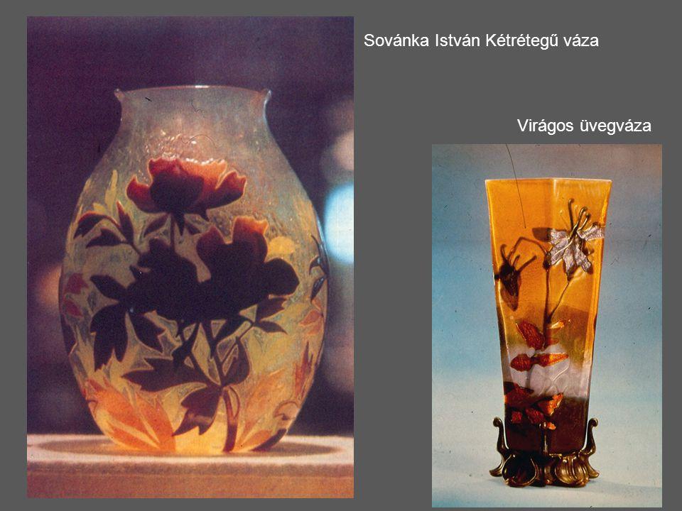 Sovánka István Kétrétegű váza