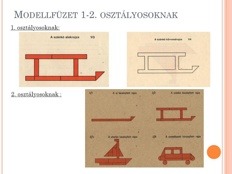 Modellfüzet 1-2. osztályosoknak