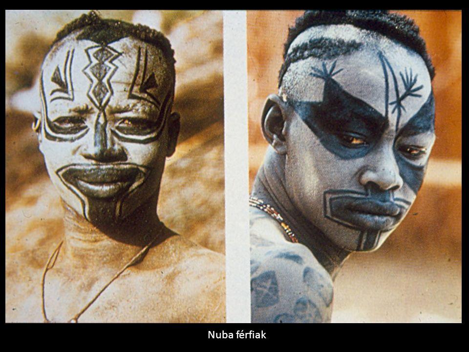 Nuba férfiak