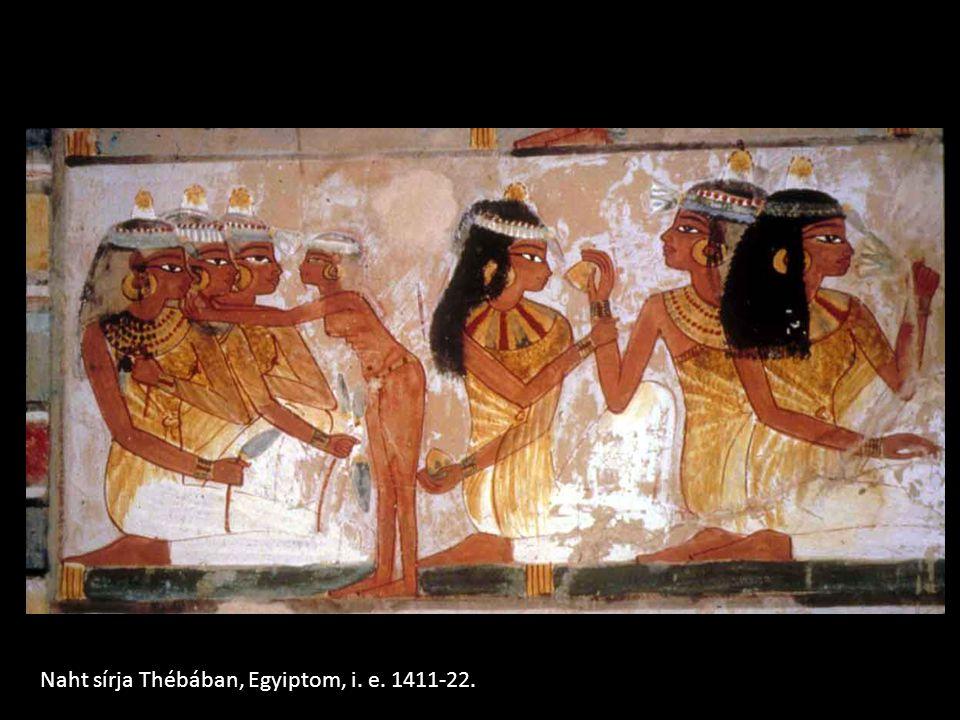 Naht sírja Thébában, Egyiptom, i. e. 1411-22.