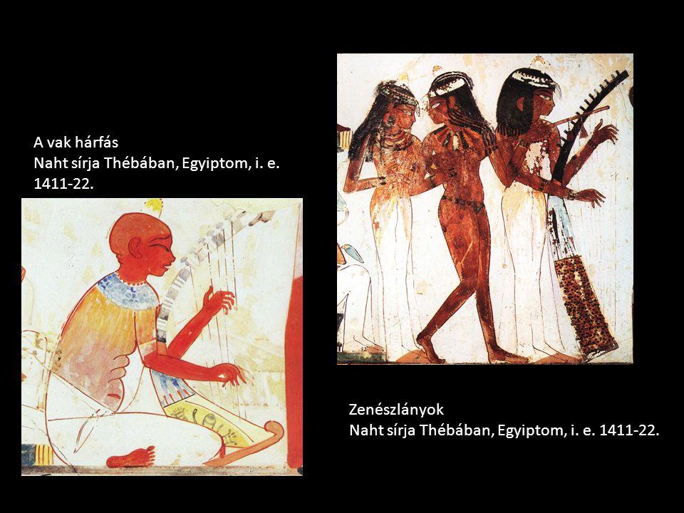 A vak hárfás Naht sírja Thébában, Egyiptom, i. e.