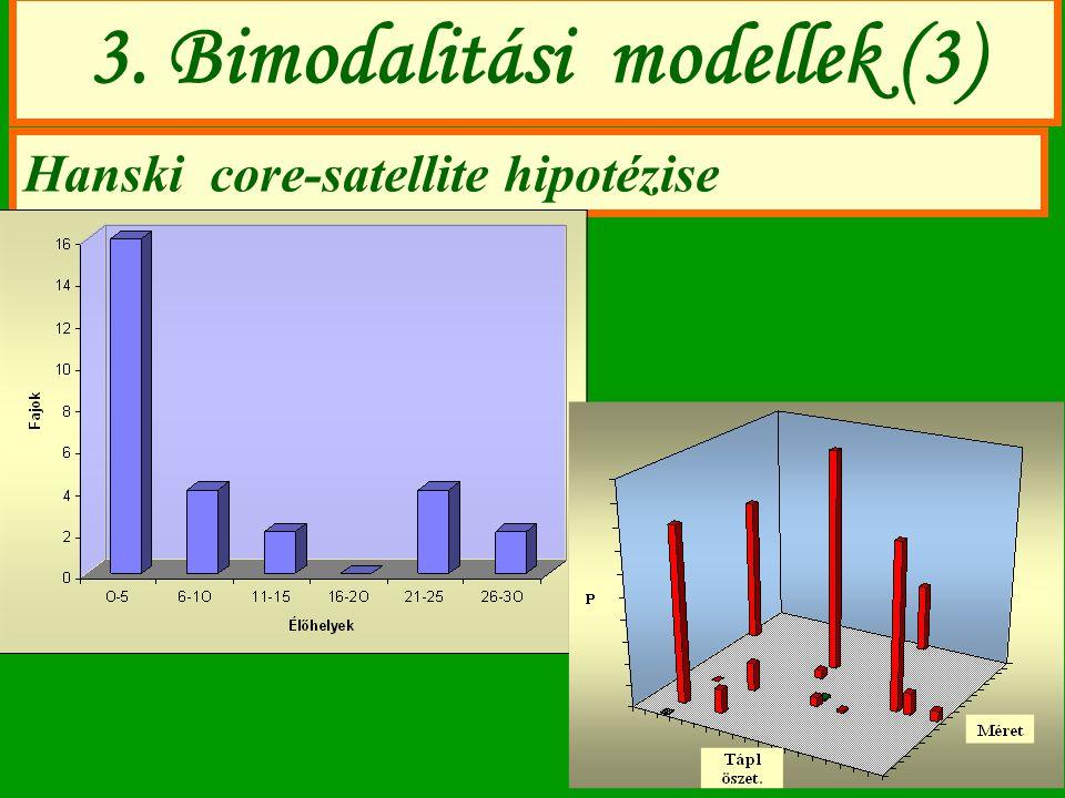 3. Bimodalitási modellek (3)