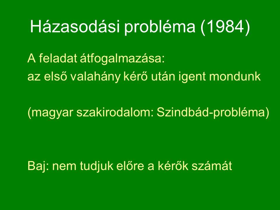 Házasodási probléma (1984)