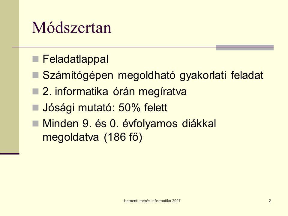 bementi mérés informatika 2007