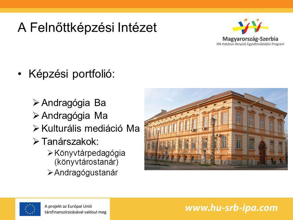 A Felnőttképzési Intézet