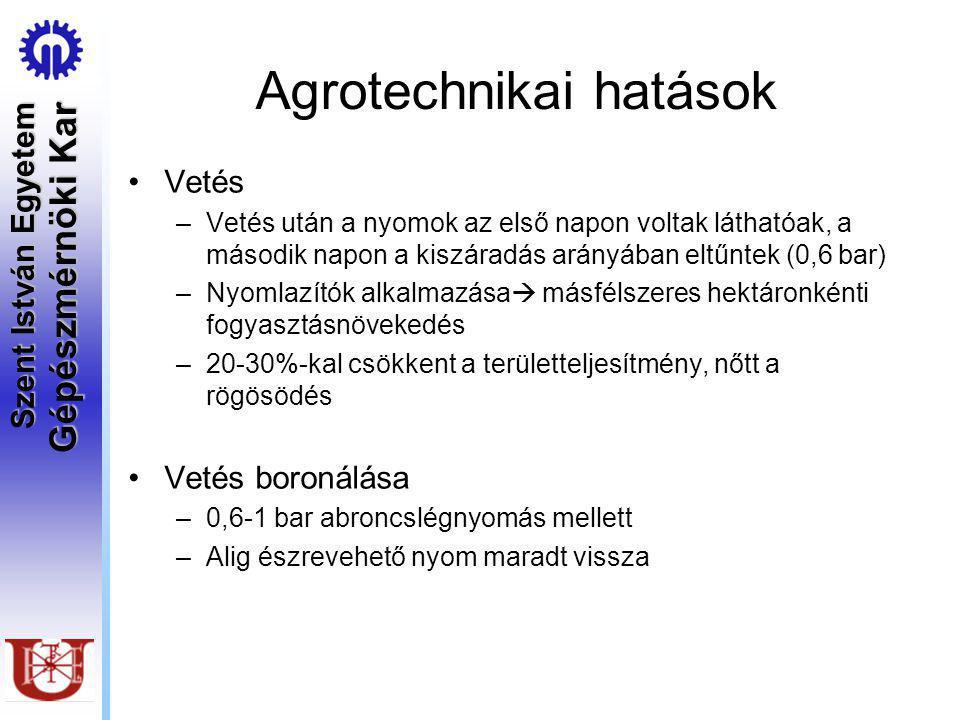 Agrotechnikai hatások