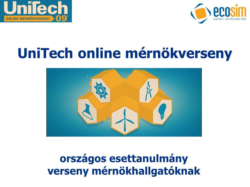UniTech online mérnökverseny